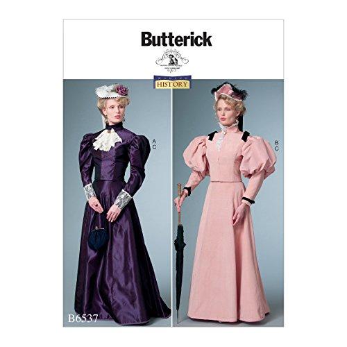 Butterick Patterns 6537E5Schnittmuster Kostüm Schnittmuster, Tissue, mehrfarbig, 17x 0,5x 22cm