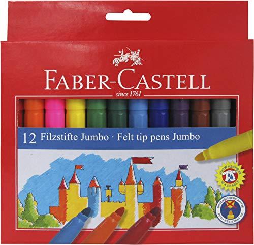Faber Castell 554312 - Estuche de cartón con 12 rotuladores