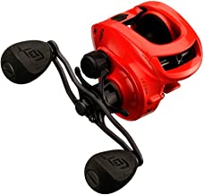 13 FISHING Concept Z Baitcast Reel - 7.3: 1 Gear Ratio - Right Handed (Fresh+Salt), Tequila Sunrise
