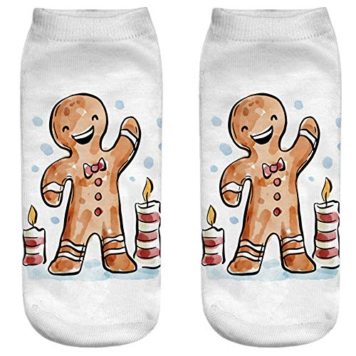 ZAMAC Calcetines de Navidad 3D Animales
