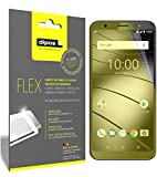dipos I 3x Screen Protector compatible with Gigaset GS185 -