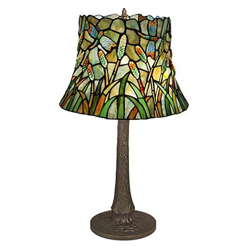 World Art TW60508 Lampes Style Tiffany, Multicolore, 63x34x34 Cm