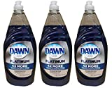 Dawn Dishwashing Liquid Ultra Platinum 4 X More Grease Cleaning Power Refreshing Rain Scent 40 Ounce...