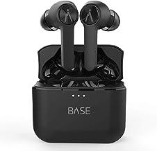 BASE LINE True Wireless Earbuds Headphones: 32+ Hours, Bluetooth 5, Dual-Mic Noise Canceling, Charging Case. Deep Bass Sou...