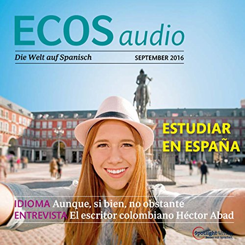 ECOS Audio - Estudiar al extranjero. 9/2016 Titelbild