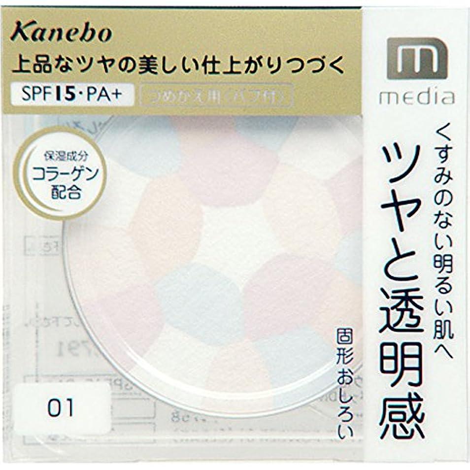 内なる保全敬の念カネボウ メディア(media)ブライトアップパウダー 01クリア