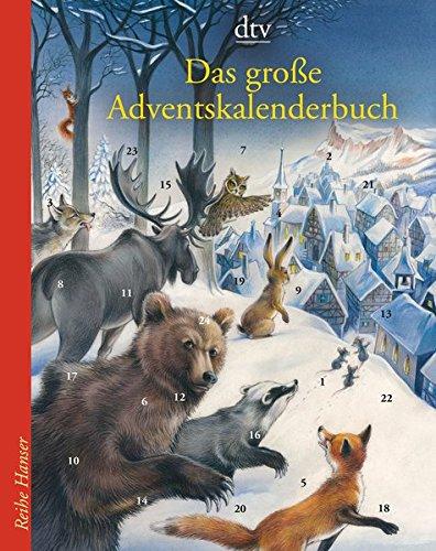 Das große Adventskalenderbuch: Die Weihnachtsmäuse und das vergessene Dorf (Reihe Hanser)