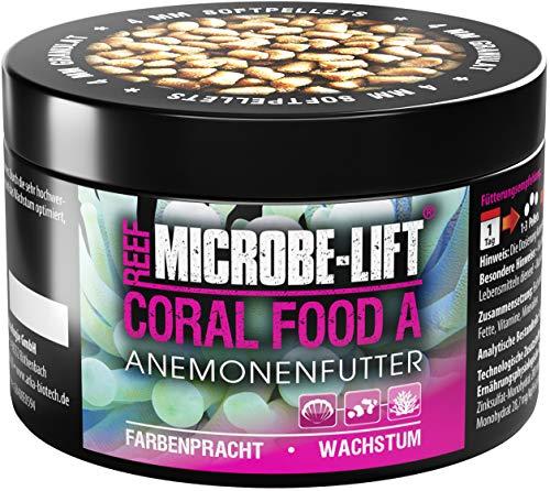 MICROBE-LIFT Coral Food A - Anemonenfutter - Soft-Granulatfutter für Anemonen in jedem Meerwasseraquarium, 150ml / 50g