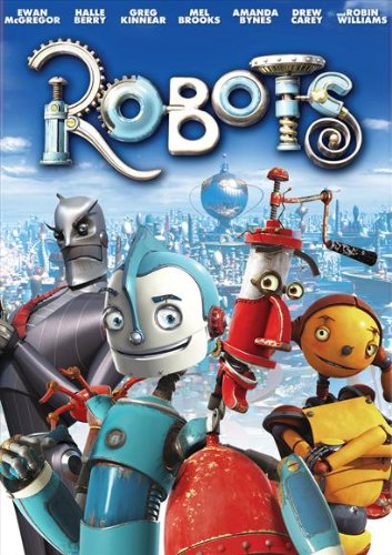 Robots Movie Poster (27 x 40 Inches - 69cm x 102cm) (2005) Style B -