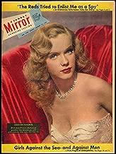 NY Sunday MIRROR Magazine 1/11 1953 Anne Francis; girl-crewed Tropicair sailboat