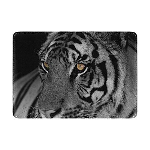 My Daily Tiger - Funda protectora para pasaporte (piel), diseño de tigre