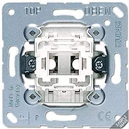 JUNG 501U Mecanismo Interruptor 10 AX / 250 V, Interruptor Unipolar