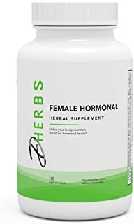 Herbal Hormonal Balance Supplement for Women with Licorice Root (100 Capsules)