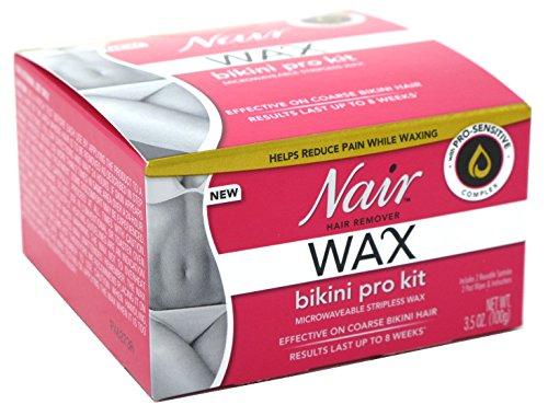 Nair Hair Remover Wax Bikini Pro Kit (2 Pack)