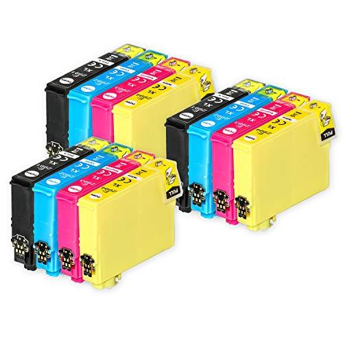 Go Inks Compatible Cartuchos de Tinta para reemplazar Epson 29 & 29XL Serie Non-OEM *Nueva Versi�n* (12 Tintas)