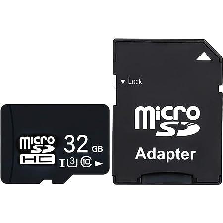 MicroSD カード【CNEVISION】Micro SD高耐久 マイクロsdカード 32gb SDXC SDHC ドライブレコーダー向け UHS-1U3 V30 超高速転送 SDアダプター付 MLCフラッシュ搭載 5年保証 (32GB)