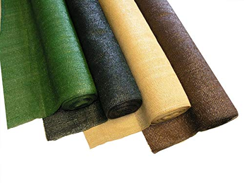 bambus-discount.com Windschutznetz 150 x 1.000cm ca. 120gr. Pro qm², Farbe beige