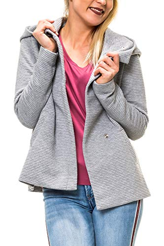 ONLY Damen Kurzmantel mit Kapuze Übergangsjacke (S, Colour 2)