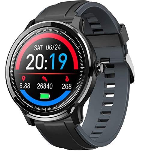 Smartwatch Orologio Intelligente con 1.3\'\' Schermo a colori tattile completo IP68 Fitness Tracker Cardiofrequenzimetro Pressione Sanguigna Monitor Ossigeno Nel Sangue Nuoto per Android e iOS
