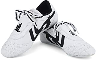 Dilwe Taekwondo skor, 10 storlekar mjuka gummisulor kampsport sneaker för barn män Kong Fu TaiChi