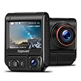 TOGUARD Uber Dual Dash Cam Built-in GPS Infrared Night Vision Car Driving Recorder FHD Dual 1920x1080P Front and Cabin...