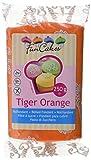 FunCakes Rolfondant -Tiger orange, 1er Pack (1 x 250 g) -