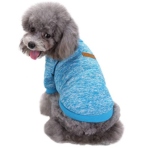 CHBORLESS Pet Dog Sweater Warm Dog Pajamas Soft...