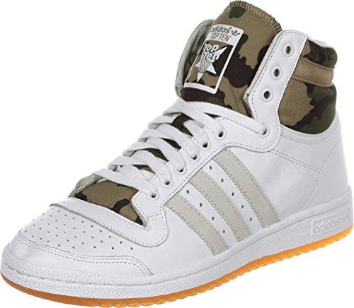 adidas Top Ten Hi W Sneaker B35367 Chalk White/Hemp - Camo Gr. 36 2/3 (UK 4,0)