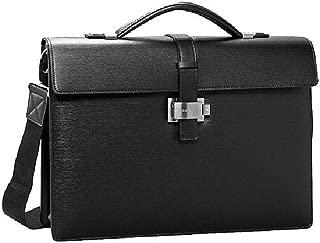 Montblanc 7578 4810 Westside Detachable Strap Gusset Leather Briefcase