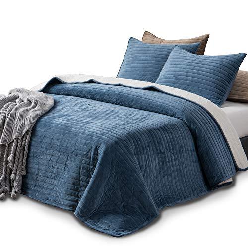 KASENTEX Plush Poly Quilt Set