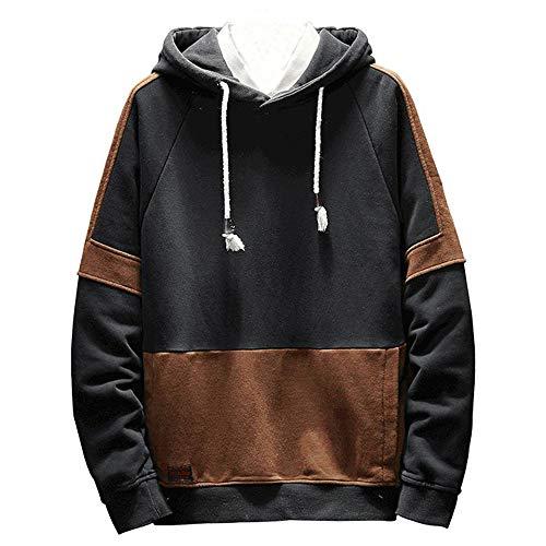 Hoodie Sweatshirts for Men Zipper,Unisex Uniform Fleece Hoody Sweatshirt Hoodie Sweater Men Women Black