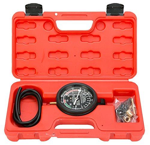 8MILELAKE Fuel Pump and Vacuum Tester Gauge Leak Carburetor Pressure Diagnostics