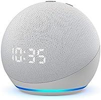 Echo Dot (4ª geração): Smart Speaker com Relógio e Alexa - Cor Branca