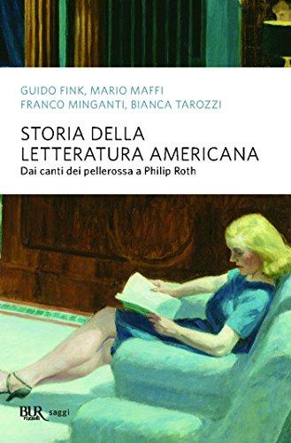 Storia della letteratura americana: Dai canti dei pellerossa a Philip Roth (Saggi)