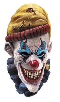 Rubie s Insano The Clown Overhead Mask Multi Color One Size
