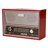 trendaffe Retro Radio Spardose in rot - Vintage Radio Sparbüchse Sparschwein