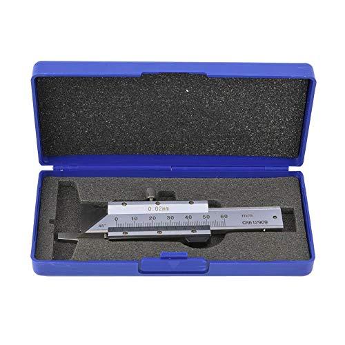Vernier Chamfer Gage Ruler Chamfer Gage Chamfering Ruler Chamfered Vernier Caliper Stainless Steel Caliper Measuring Range 0-50mm