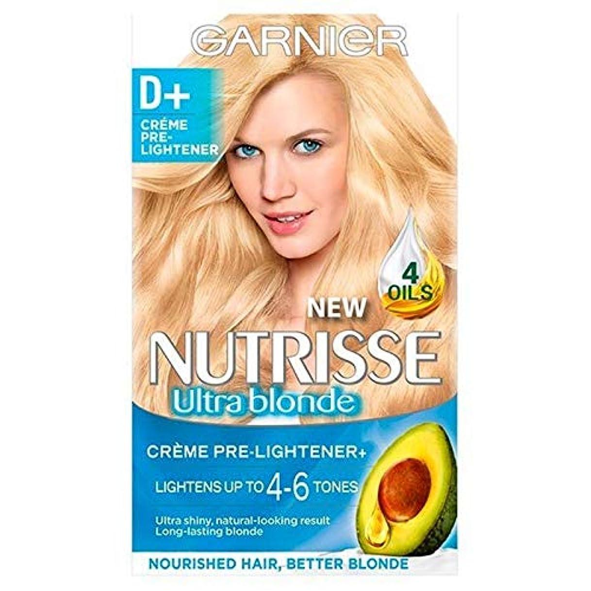 台無しにスワップ操る[Garnier ] ガルニエのNutrisseさD +漂白前ライトナーパーマネントヘアダイ - Garnier Nutrisse D+ Bleach Pre-lightener Permanent Hair Dye [並行輸入品]