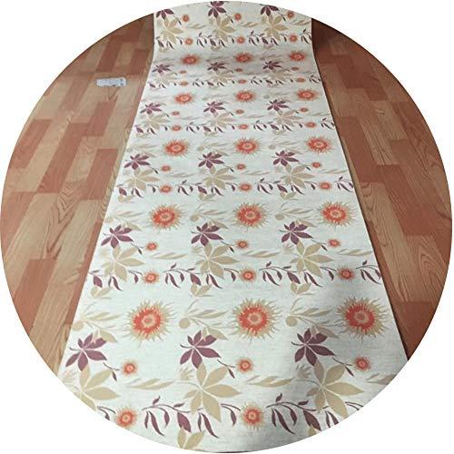 LSK Tappeto Tappeti Runner Tappeto Passatoia Corridoio Carpet Poliestere con Fantasia 3D con Funzione Antiscivolo, Adatto for Due Stili di Portico Casa Tappeti Runner (Color : A, Size : 1X7M)