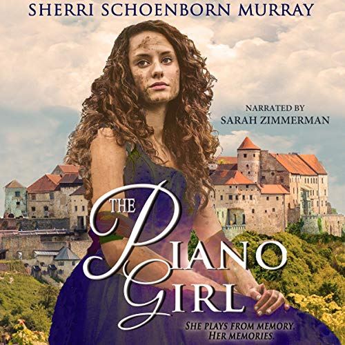 The Piano Girl: Counterfeit Princess audiobook cover art