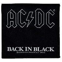 AC/DC エーシーディーシー Back In Black Patch ワッペン ブラック