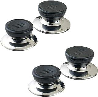Lot de 4 boutons de rechange faciles à installer pour couvercle de casserole, couvercle de casserole, couvercle de cassero...