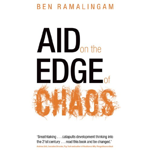 Aid on the Edge of Chaos audiobook cover art