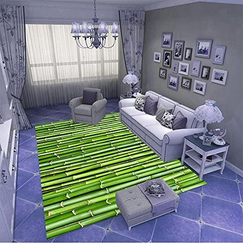 Alfombra Salon,Lavable Antideslizante De Pelo Corto Alfombras,Adecuado para NiñOs Dormitorio DecoracióN para...