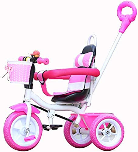 YUMEIGE Dreir r Kinder Dreirad mit Sto iff Kinder Pedal fürrad 2-5 Jahre OldLoad Gewicht 25 kg Kinderwagen Jungen mädchen Spielzeugauto
