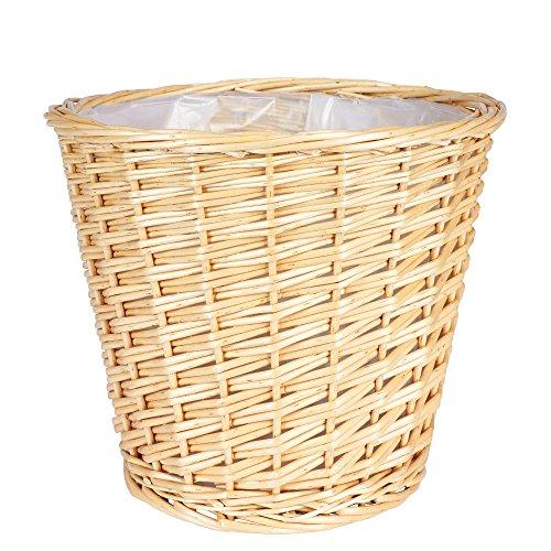 Household Essentials ML-2312 Medium Willow Waste Basket