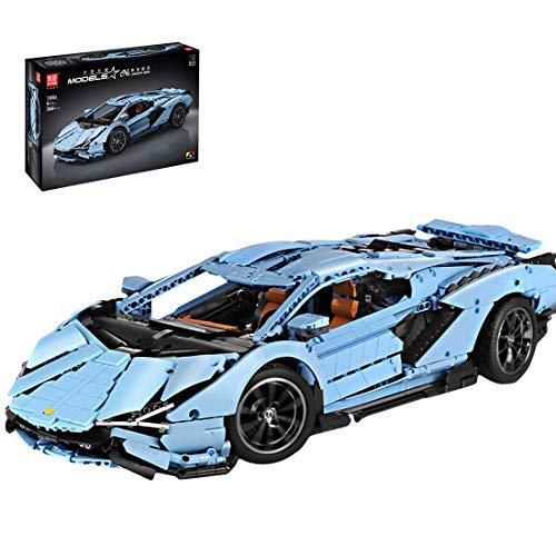 PEXL Technik - Modelo de coche para Centenario LP770-4, Technic Sportwagen, kit MOC más de 3.800 piezas de sujeción, escala 1: 8