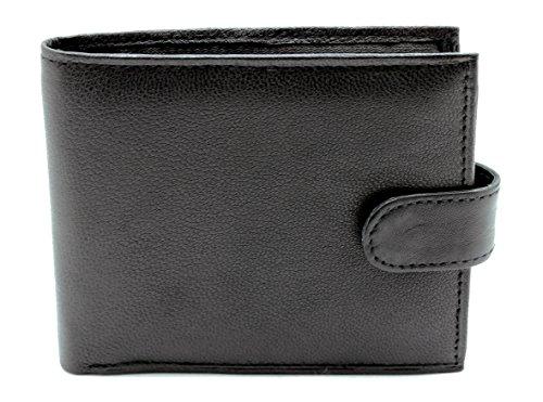 RAS, portafoglio da uomo in morbida pelle, con porta carte multiplo e porta carta di identità, prodotto di qualità, #64