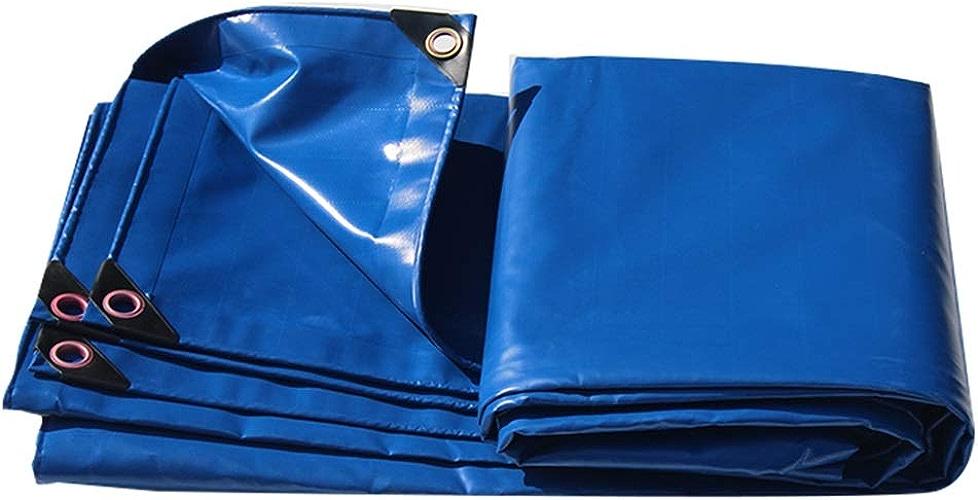 Toile de Camion extérieure de Toile imperméable imperméable de Toile de Tissu antipluie de Toile de bache d'épaisseur Anti-vieillissement LIUDINGDING (Couleur   bleu, Taille   3  3m)
