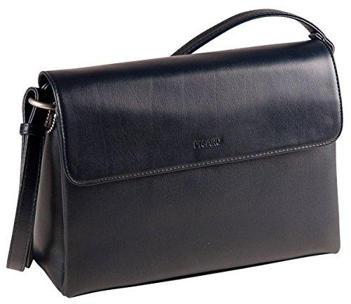 Picard, Damen Handtaschen aus Synthetik, in der Farbe Ozean/Blau, aus der Serie Full, mit Überschlag und Magnetverschluss 3407288023